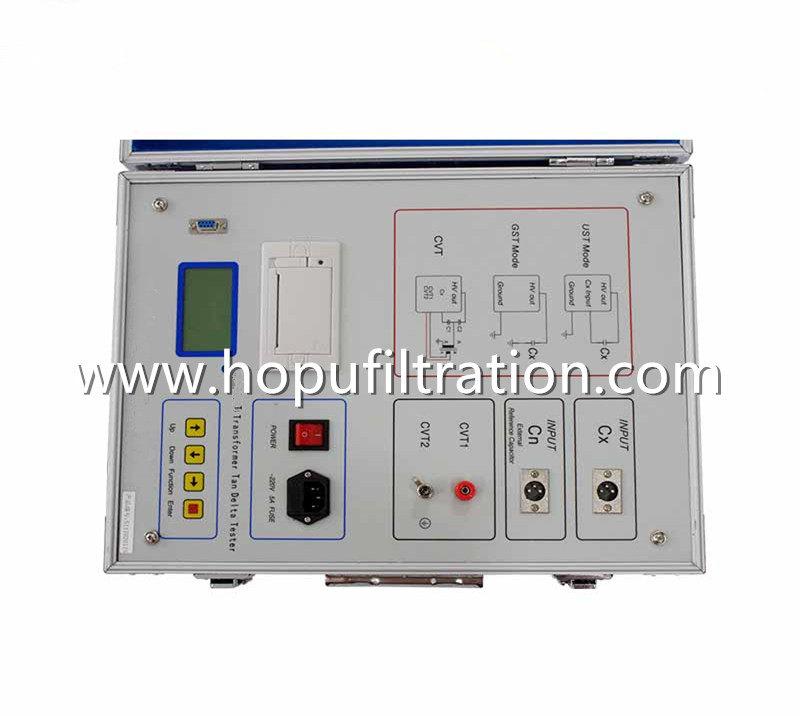 Transformer Capacitance Tangent Delta Tester,Dissipation Loss Factor Analyzer